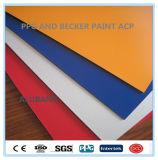 PPG y Becker Paint panel compuesto de aluminio (ALB-015)