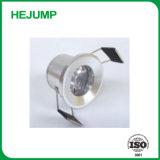 1.5 vatios no regulable no se puede girar Mini LED luz tenue