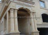 Calcare beige naturale della Cina per il rivestimento della parete/mattonelle di pavimento