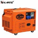 Groupe électrogène diesel de Simple-Cylindre silencieux refroidi à l'air triphasé (DG3500SE3)