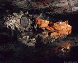 Picaretas cónicas da mineração subterrânea dos bits redondos da pata para o mineiro contínuo