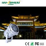 18W impermeabilizan el proyector para al aire libre, yarda del LED