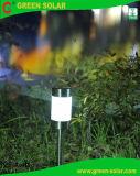 Indicatore luminoso solare della colonna di ormeggio dell'acciaio inossidabile con bianco Superbright LED, 3-Pack