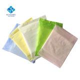 Malla de 280mm la impresión de la superficie perforada Blue Core ultra delgada capa de compresas absorbentes rápido