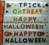 Halloween-Funkeln-Fenster-Gelee-Dekoration-/Gel-Aufkleber