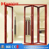 Porte de pliage en aluminium élégante du plus défunt modèle d'usine de la Chine