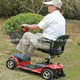 Nueva vespa eléctrica de la movilidad con la silla de lujo