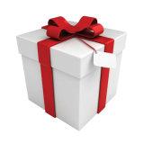 Мешок оптовой продажи качества Hight выполненный на заказ мешка подарка венчания обломоков бумажного