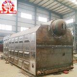 Double chaudière de chauffage central allumée de tube de l'eau de tambour par charbon