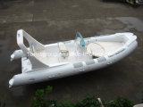 Liya 6.2m costilla inflable barco pesquero de fibra de vidrio de yates de pesca barco