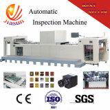 Folha imperfeita da impressão que inspeciona a máquina