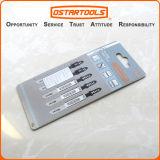 El metal universal de la asta del HSS T118A/la plantilla de madera del corte vio la lámina, 5-Pack