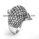 De Ring van het Symbool van de Nota van de Muziek van de Juwelen van het roestvrij staal