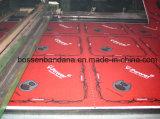 Пестрый платок подгонянный продукцией логоса OEM фабрики печати красный хлопка Headwear