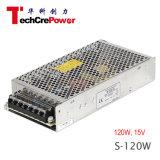 Bescheinigung-gute Qualität des Cer-S-120-15, Wechselstrom 220V Schalter-der Stromversorgung zu des Gleichstrom-15V Transformator-120W