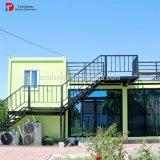 20FT het gecombineerde Vlakke Huis/het Huis van de Container van het Pak Modulaire
