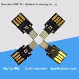 Venda por grosso de chips USB OTG USB 3.0 4 GB Sem Flash de caso