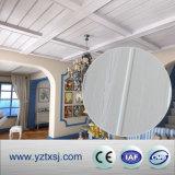 Tuiles en bois extérieures stratifiées de plafond de PVC de couleur