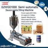 Halbautomatische pneumatische Füllmaschine für Erdnussbutter (G2WGD1000)
