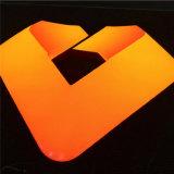 LED al aire libre que hace publicidad del rectángulo ligero para decorativo