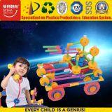 Prédio de bricolage Infantil de plástico coloridas brinquedo