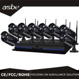1080P 8CH 무선 WiFi NVR 시스템 장비 안전 CCTV 사진기
