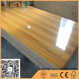 16mm de alto brillo para muebles de madera contrachapada de melamina