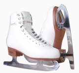 Zapatos del patín de Ince del cuero genuino de la alta calidad