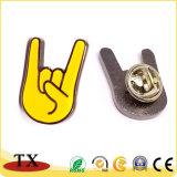 Insigne de doigt en alliage de zinc métal