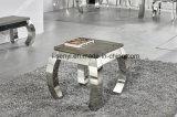 現代ステンレス鋼のソファー表の側面表の端表のコンソールテーブルの居間の家具