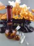 Bernsteinöl-Anlageglasrohr 14mm bis 18mm bündiges Downstem zwei Bienenwaberohr der Funktions-eine
