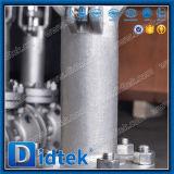 Didtek fuera de la válvula de globo criogénica del acero inoxidable del tornillo