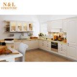 Gabinete moderno da madeira do MDF do gabinete de cozinha do estilo 2017 novo