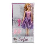 11,5 pouces de conte de la mode avec des accessoires de poupées en vinyle pour fille