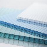 Folha da cavidade do policarbonato da camada dobro para o indicador e o telhado