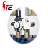Macchina pneumatica automatica di scambio di calore della stazione del doppio della macchina della pressa di calore della stazione della maglietta di calore della scivolata superiore pneumatica della stampatrice 40*50cm doppia