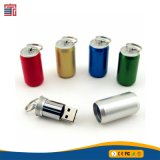 Gran oferta de botella de bebida clip de metal de la unidad Flash USB 3.0