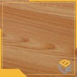 Bois de teck de la conception du grain de l'impression de papier décoratif pour l'étage, porte, une armoire ou du mobilier de surface fabricant chinois