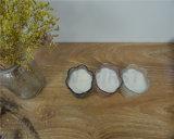 Velas sin llama que oscilan del pilar de la taza de cristal con pilas del tarro con el telecontrol