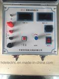 LCD表示が付いている携帯用ループ抵抗のテスター