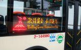 Panneau programmable de destination du bus DEL de message
