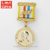 Cinta religiosa militar del medallón de la concesión del ejército del regalo de Estados Unidos del soldado alemán de encargo al por mayor de la reproducción para la venta de la medalla