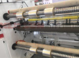 Máquina de corte longitudinal de alta velocidade para Pet BOPP CPP película de PE de PVC e a etiqueta de papel