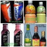 Automati etiquetado adhesivo pegatina de la máquina para botellas redondas botella plana de tamaño de forma diferente