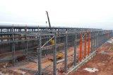 Taller ligero de la estructura de acero del palmo grande del edificio de marco del metal