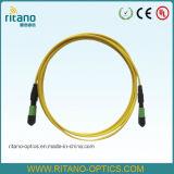 Cavo Patchcords di fibra ottica della fibra di MTP del cavo ottico del circuito di collegamento di MPO MTP