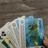 Niños de la alta calidad de impresión tarjetas de juego con el precio barato