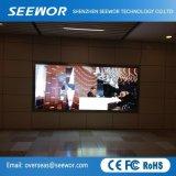 Poids léger P4mm Indoor plein écran à affichage LED de couleur avec une bonne qualité