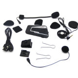 Soutenir l'avance de 3 riders Bluetooth casque de moto interphone mains libres sans fil