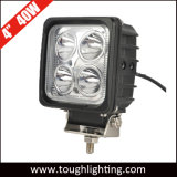 """12V 4.25 """" 40W IP68 impermeabilizzano l'indicatore luminoso del lavoro dell'inondazione del trattore del CREE LED"""